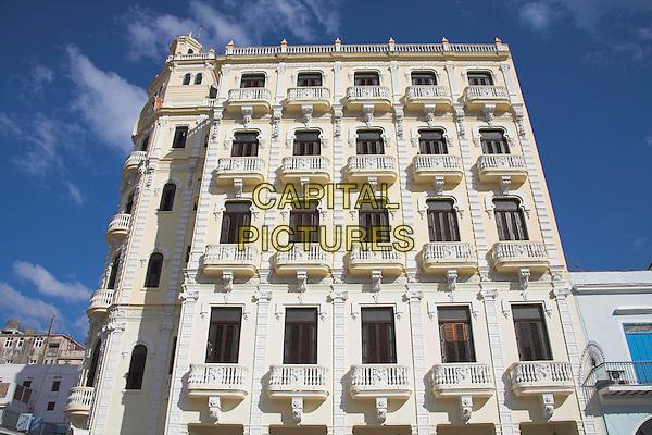 Building, Plaza Vieja, Old Square, Havana, La Habana Vieja, Cuba