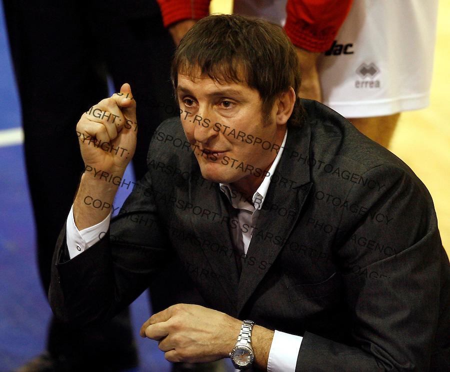 Odbojka, season 2006/07&amp;#xA;CRVENA ZVEZDA Vs. VOJVODINA&amp;#xA;Dabic Radovan, head coach&amp;#xA;Beograd, 23.12.2006.&amp;#xA;foto: Srdjan Stevanovic<br />