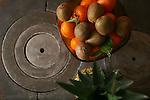 Frutero en la cocina economica