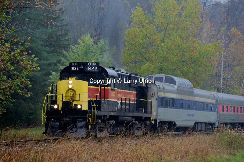 The Cuyahoga Valley Scenic Railroad<br />    at Brecksville Station<br /> Cuyahoga Valley National Park <br /> Summit County,  Ohio