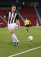 Kerr Young in the Dunfermline Athletic v Celtic Scottish Football Association Youth Cup Final match played at Hampden Park, Glasgow on 1.5.13.