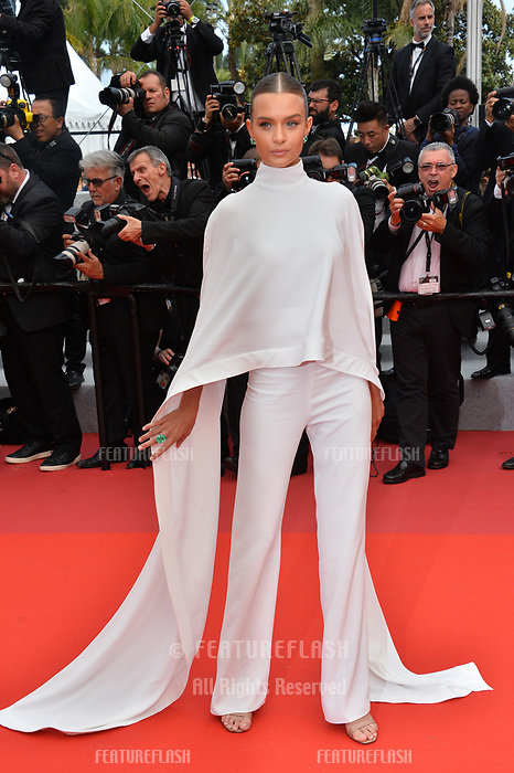 """CANNES, FRANCE. May 22, 2019: Josephine Skriver  at the gala premiere for """"Oh Mercy!"""" at the Festival de Cannes.<br /> Picture: Paul Smith / Featureflash"""