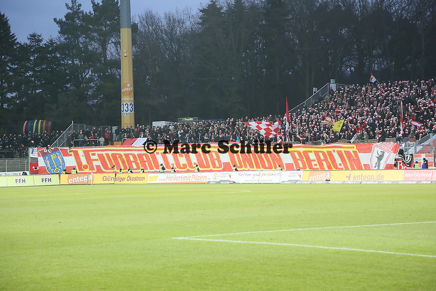 Fans aus Berlin - SV Darmstadt 98 vs. 1. FC Union Berlin, Stadion am Boellenfalltor