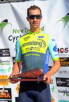2016 champion Joe Cooper. The opening ceremony of the NZ Cycle Classic UCI Oceania Tour at Mitre 10 Mega in Masterton, New Zealand on Tuesday, 16 January 2018. Photo: Dave Lintott / lintottphoto.co.nz