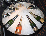 Champagne on Ice, Jardiniere Restaurant, San Francisco, California