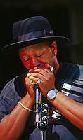JOHNNY MARS SINGS - MONTEREY BAY BLUES FESTIVAL, CALIFORNIA