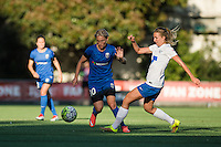 Seattle, Washington - Saturday, July 2nd, 2016:  Seattle Reign FC midfielder Jessica Fishlock (10) during a regular season National Women's Soccer League (NWSL) match between the Seattle Reign FC and the Boston Breakers at Memorial Stadium. Seattle won 2-0.