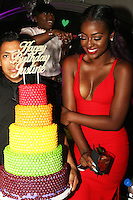 NEW YORK, NY - AUGUST 25, 2016 Justine Skye celebrates her 21st birthday at Up & Down, August 25, 2016 in New York City. Photo Credit: Walik Goshorn / Mediapunch
