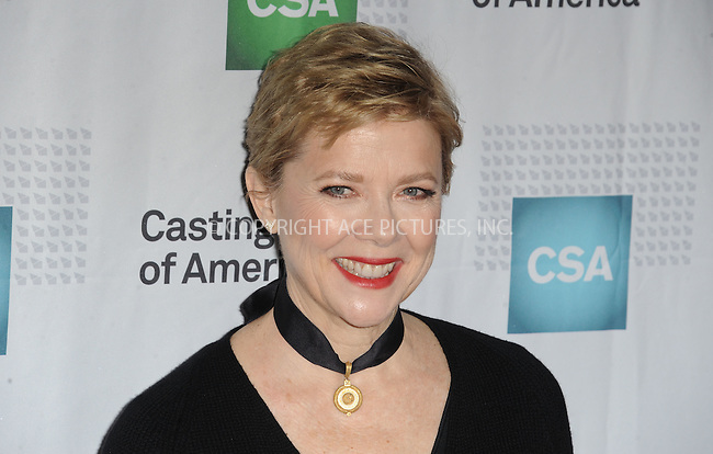 www.acepixs.com<br /> <br /> January 19 2017, LA<br /> <br /> Actress Annette Bening arriving at the 2017 Annual Artios Awards at The Beverly Hilton Hotel on January 19, 2017 in Beverly Hills, California<br /> <br /> By Line: Peter West/ACE Pictures<br /> <br /> <br /> ACE Pictures Inc<br /> Tel: 6467670430<br /> Email: info@acepixs.com<br /> www.acepixs.com