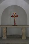 Israel, the altar at Descentibus Chapel on Mount Tabor