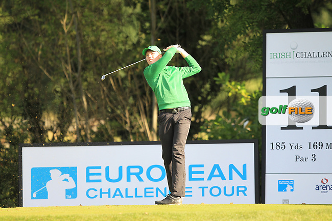 Robin Dawson (IRL) during round 1 of the Irish Challenge, Mount Wolseley Hotel and Golf Resort, Tullow, Co Carlow, Ireland 14/09/2017<br /> Picture: Fran Caffrey / Golffile<br /> <br /> All photo usage must carry mandatory copyright credit (&copy; Golffile | Fran Caffrey)