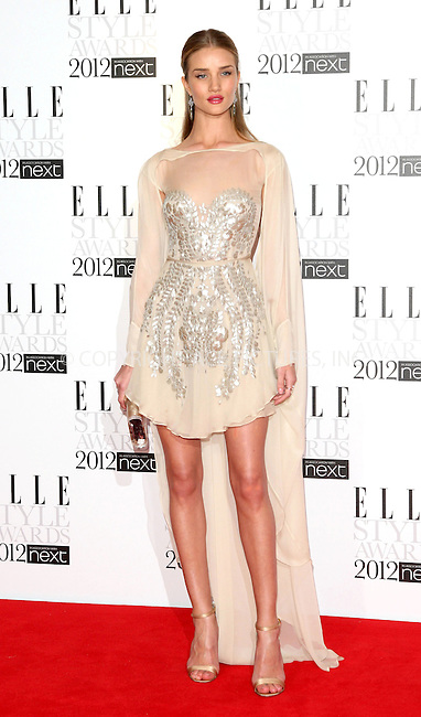 WWW.ACEPIXS.COM . . . . .  ..... . . . . US SALES ONLY . . . . .....February 13 2012, London....Rosie Huntington-Whiteley at the Elle Style Awards 2012 on February 13 2012 in London ....Please byline: FAMOUS-ACE PICTURES... . . . .  ....Ace Pictures, Inc:  ..Tel: (212) 243-8787..e-mail: info@acepixs.com..web: http://www.acepixs.com