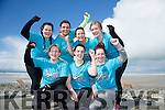 """Team WTF, """"where's the finish"""". Front l-r  Carol Hillard, Mairead Brosnan and Chloe O'Connor. Back l-r  Siobhan Moynihan, Michelle O'Shea, Kelly Murray and Carina Cronin  at the Banna Beast Challenge on Saturday"""