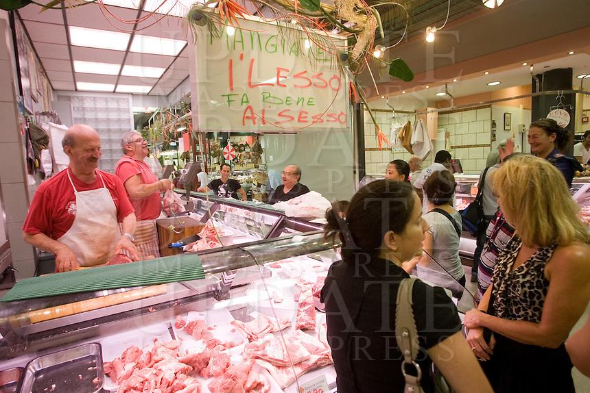 Il Mercato Centrale a Firenze.<br /> Mercato Centrale in Florence.<br /> UPDATE IMAGES PRESS/Riccardo De Luca