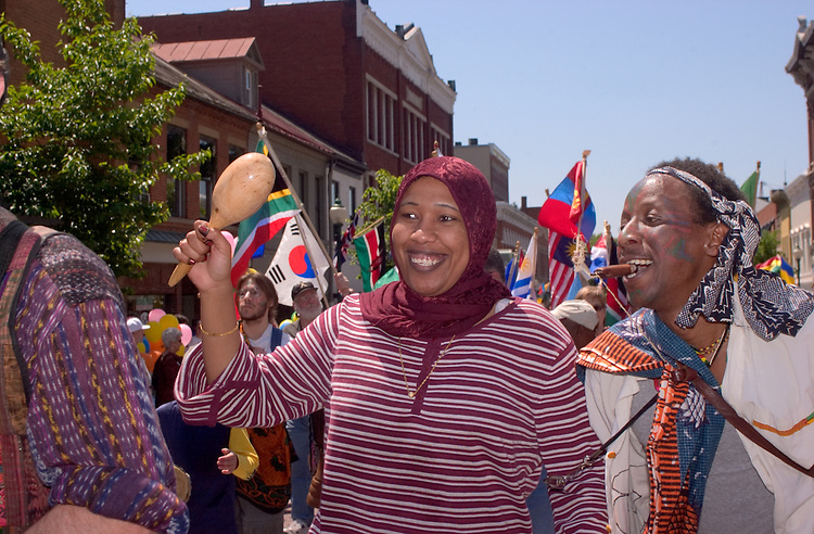 16989International Street Fair May 2005..Yumna Ibrahim, Leonard Mjomba