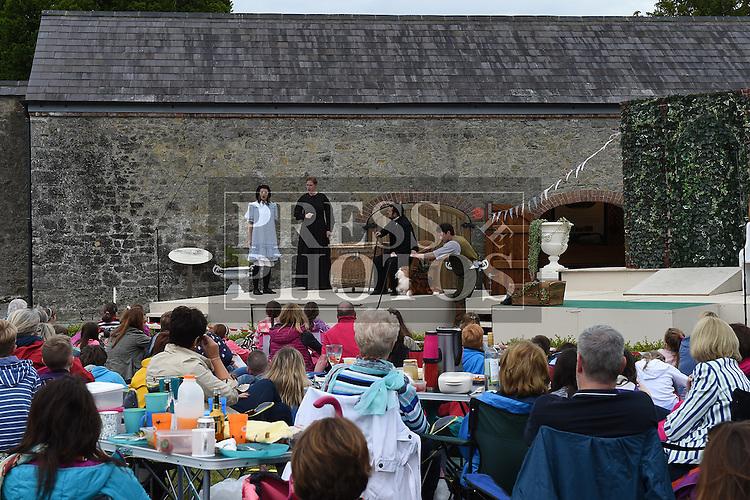 A scene from the Chapterhouse Theatre Company's presentation of 'The Secret Garden' at Oldbridge Estate. Photo:Colin Bell/pressphotos.ie