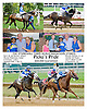 Picko's Pride (#2) winning the Stonewall Farm Ocala Hockessin Stakes, through DQ of Bet the Power at Delware Park on 7/28/12