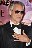 Andrea Bocelli<br /> 'The Nutcracker and the Four Realms' European Film Premiere at Westfield, London, England  on November 01,  2018.<br /> CAP/PL<br /> &copy;Phil Loftus/Capital Pictures