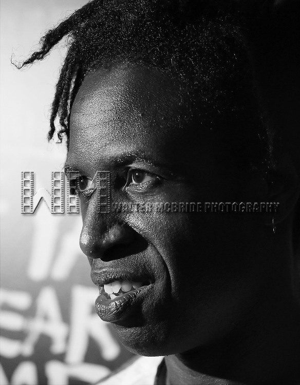 Saul Williams attends the Broadway Opening Night After Party for 'Holler if ya Hear Me'  on June 19, 2014 at Gotham Hall in New York City.