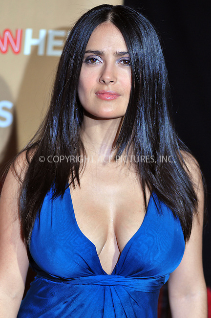 WWW.ACEPIXS.COM . . . . . ....November 22 2008, Hollywood, CA....Actress Salma Hayek arriving at  the 2008 CNN Heroes event held at the Kodak Theatre on November 22, 2008 in Hollywood, California.....Please byline: JOE WEST- ACEPIXS.COM.. . . . . . ..Ace Pictures, Inc:  ..(646) 769 0430..e-mail: info@acepixs.com..web: http://www.acepixs.com