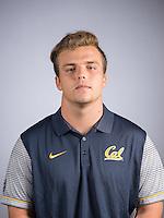 BERKELEY, CA - August 9, 2016: The Cal Bears 2016-2017 Football Team Portraits