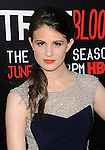 Amelia Rose-Blair arriving at the Los Angeles Premiere for the seventh and final season of True Blood held at TCL Chinese Theater June 17, 2014.