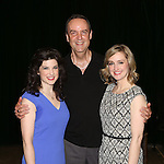 Veronica Kuehn, Dale Hensley and Kara Guy during the 'Clinton The Musical' - Sneak Peek at Ripley Grier Studios on March 4, 2015 in New York City.