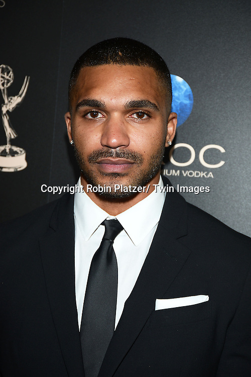 Tyler Lepley attends The 40th Annual Daytime Emmy Awards on<br />  June 16, 2013 at the Beverly Hilton Hotel in Beverly Hills, California.