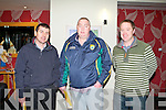 DELEGATES: Delegates at the Kerry GAA annual general meeting at the Ballyroe Heights hotel on Monday l-r: Mike Murray, Keel and Seamus O'Regan and Gerald Carroll, Kilmoyley.