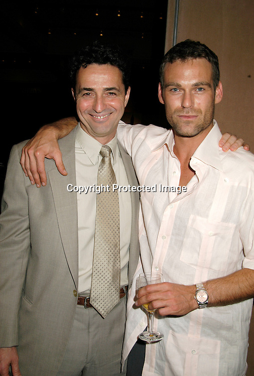 Stephen Schnetzer and Grayson McCouch                                   ..at the New York Women in Film & Television's Fifth Annual Designing Hollywood Gala on June  23, 2004 at Sotheby's New York. ..Photo by Robin Platzer, Twin Images..Maggie Delgado, Costume Designer of As The World Turns,..Aude Bronson-Howard, and Naomi Donne were all ..honored and were on a panel.