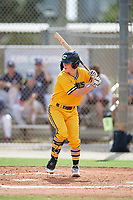 Cooper Ingle (3) during the WWBA World Championship at the Roger Dean Complex on October 10, 2019 in Jupiter, Florida.  Cooper Ingle attends A C Reynolds High School in Asheville, NC and is committed to Clemson.  (Mike Janes/Four Seam Images)