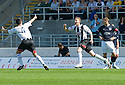 07/08/2010   Copyright  Pic : James Stewart.sct_jsp004_falkirk_v_dunfermline  .::  PAT CLARKE CELEBRATES AFTER HE HEADS HOME THE FIRST FOR DUNFERMLINE ::  .James Stewart Photography 19 Carronlea Drive, Falkirk. FK2 8DN      Vat Reg No. 607 6932 25.Telephone      : +44 (0)1324 570291 .Mobile              : +44 (0)7721 416997.E-mail  :  jim@jspa.co.uk.If you require further information then contact Jim Stewart on any of the numbers above.........