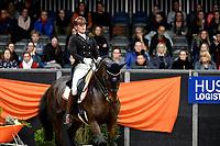 ZUIDBROEK - Paardensport, IICH, Dressuur Grand Prix op muziek,  22-12-2018,  Agaath van der Lei met VRBgroup's Caron