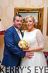 wedding pic<br /> --------------<br /> Carole O'Sullivan,daughter of Eugene&Margaret,Fenit and Kenneth Lawlor,son of Tom&Julianne,Ballyheighue who were married on Saturday Dec 6th,2014,at Churchill by Fr Eamonn Mulvihill.Bestman was Brien sheehy,Bridesmaid,Tracy O'Sullivan.<br /> Flowergirls,Ruby&Millie Lawlor and they will reside in Ballyheighe