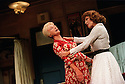 Moira Lister Joan Collins in Over The Moon opens at The Old Vic Theatre on 15/10/01  pic Geraint Lewis