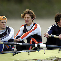 2005 Varsity Boat Race - Pre race fixtures - Putney, London., ENGLAND; left to right,  Sjoerd Hamburger, Photo  Peter Spurrier. .email images@intersport-images...[Mandatory Credit Peter Spurrier/ Intersport Images] Varsity:Boat Race Rowing Course: River Thames, Championship course, Putney to Mortlake 4.25 Miles