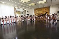 SAO PAULO, SP, 04.08.2014 - MISS SAO PAULO - Desfile preparativo de biquini para Miss Sao Paulo na tarde desta segunda-feira no Jockey Club Sao Paulo na região sul da cidade. (foto: Vanessa Carvalho / Brazil Photo Press).