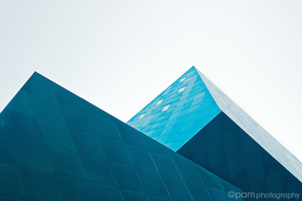 Architectural abstract of the Jewish Contemporary Museum in San Francisco