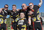 May 20, 2011 Colorado Springs, CO.   Marine Corps Wounded Warriors following the handcycle 10K at the 2011 Warrior Games at the U.S. Air Force Academy, Colorado Springs, CO...