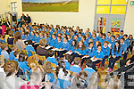 Large crowds gathered last Friday to celebrate the official opening of Drumtrasna NS, Abbeyfeale..Ann Rothery(principal)