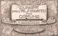 Europa dall'Alfabeto mai Comune