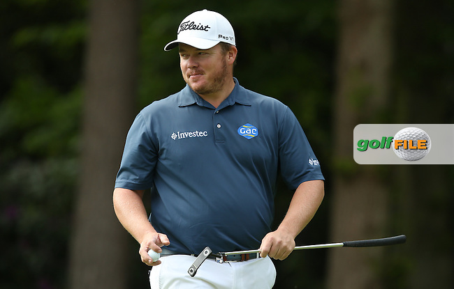 George Coetzee (RSA) during Round Two of the 2015 BMW PGA Championship over the West Course at Wentworth, Virginia Water, London. 22/05/2015Picture David Lloyd, www.golffile.ie.