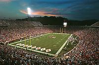 Scott Stadium in Charlottesville, Va. Photo/Andrew Shurtleff uva football entertainment