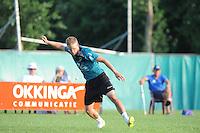 KAATSEN: HEERENVEEN: 03-07-2015, Masterskaatsen, Winnaars Menno van Zwieten (opslag), Dylan Drent en Hans Wassenaar (Koning), ©foto Martin de Jong