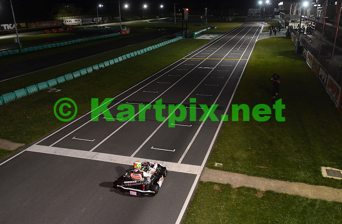 Lloyd de Boltz-Miller regain his World 24 Hour Karting distance record, using a reversed configuration of the PF International circuit.