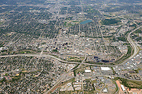 Aerial of Colorado Springs, Colorado. June 2014. 85575