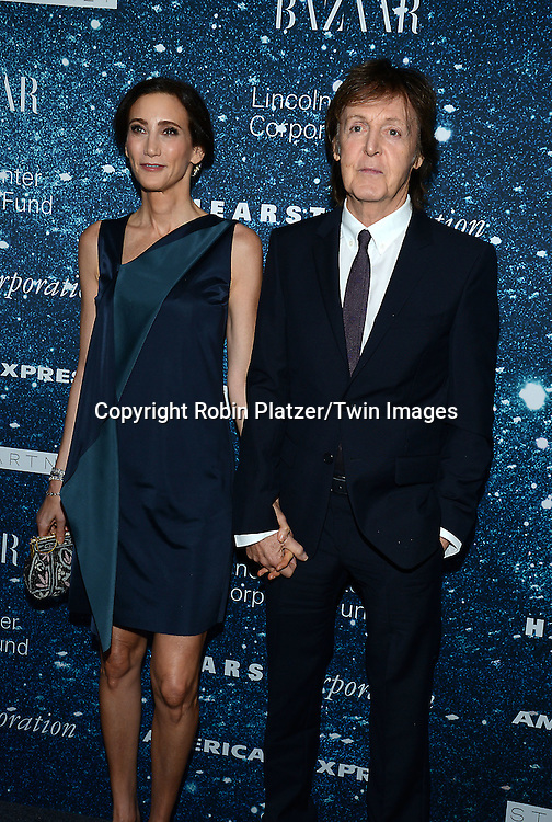 Nancy Shevell and Sir Paul McCartney attend the Stella McCartney Honored by Lincoln Center Gala on November 13, 2014 at Alice Tully Hall in New York City, USA. She was given the Women's Leadership Award which was presented bythe LIncoln Center for the Performing Arts' Corporate Fund.<br /> <br /> photo by Robin Platzer/Twin Images<br />  <br /> phone number 212-935-0770