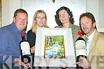 Tom Leslie, Ciara Irwin-Foley, Angela O'Connor and John O'Sullivan who are inviting everyone to come along to the Killarney Lions club annual wine and art exhibition in the Malton Hotel Killarney on the 24th November