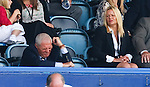 Walter Smith disconsolate in the stand as Rangers go two goals behind at Portsmouth