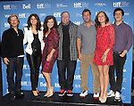 David Spade, Selena Gomez, Fran Drescher, Kevin James, Adam Sandler, Molly Shannon, & Andy Samberg attending the The 2012 Toronto International Film Festival.Photo Call for 'Hotel Transylvania' at the TIFF Bell Lightbox in Toronto on 9/8/2012